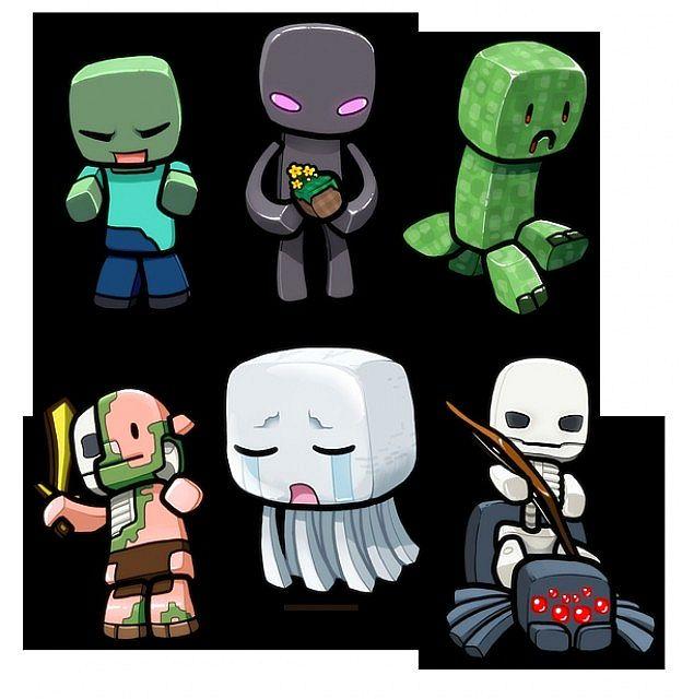 Duskcraft 2.0 Minecraft Server  Minecraft Cute Skeleton