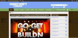 Flat MinecraftForums [Redesign] Minecraft Blog