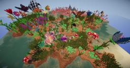 Giant Flower Garden Biome Minecraft Project
