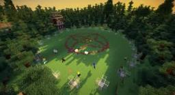 The hunger games arena