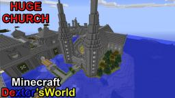 Huge Church Minecraft Map & Project
