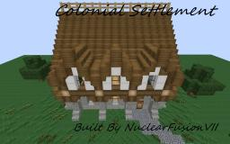 Colonial Settlement [WIP] Minecraft Map & Project
