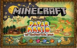 Paper Mario: The Thousand-Year Door in Minecraft Minecraft