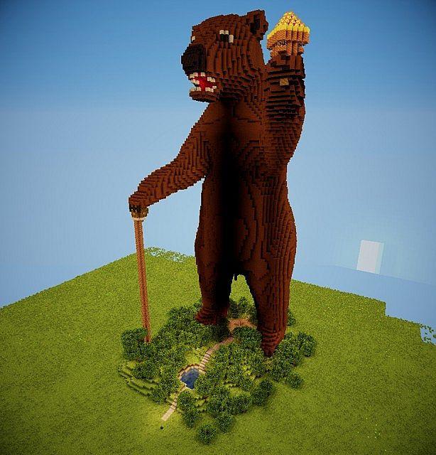 Soviet Bear Server Spawn Minecraft Project