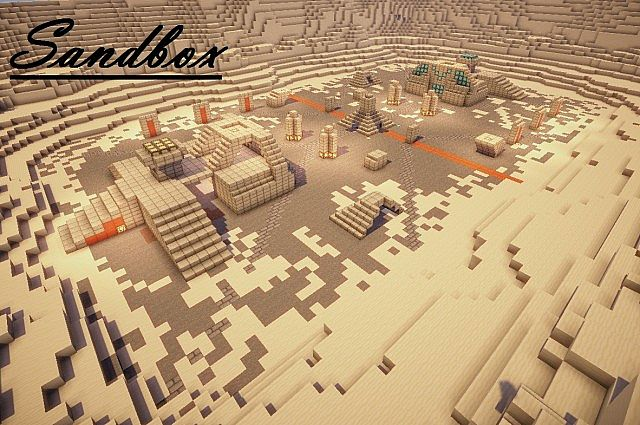 Sandbox Halo Map Minecraft Project