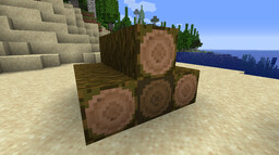 Rounded Log Tops Minecraft Texture Pack