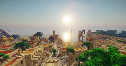 Project: Desert City Lyberia Minecraft Map & Project