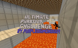 Ultimate Parkour Challenge By PurpleDiamondGuy (1.16.1) Minecraft Map & Project