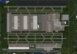Mineopolis International Airport | Mineopolis and the Countryside Minecraft Map & Project