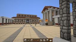 In the land of Mercury worshipers/En la tierra  de los adoradores de Mercurio Minecraft Map & Project