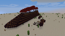 Jabba's Sail Barge [Star Wars] Minecraft Map & Project