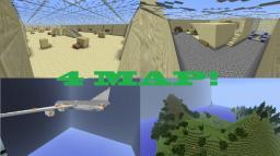 Карта 2 замка для Minecraft 1.5.2, 1.6.4, 1.7.2 (PVP 2 ...