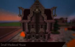 || Small Medieval House || Minecraft Map & Project