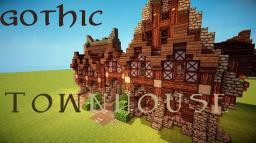 Gothic Townhouse Minecraft