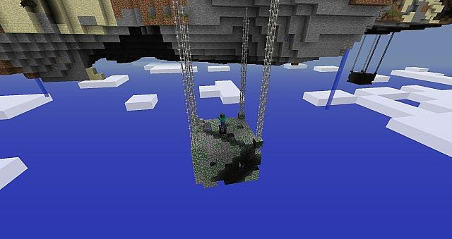 Minecraft Sky Dimension World Map Download