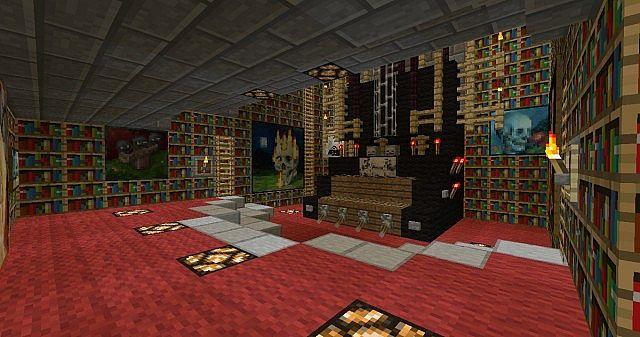 Creepy Mansion Minecraft Project