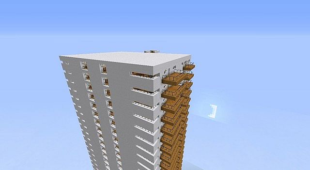 Apartment Building 1 Minecraft Project