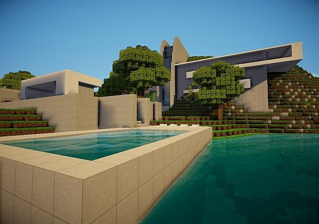 Shifted - A Postmodern Home Minecraft Project
