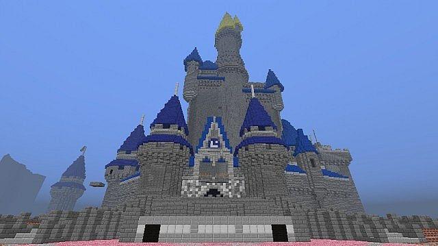 Disneyworld Magic Kingdom Minecraft Project