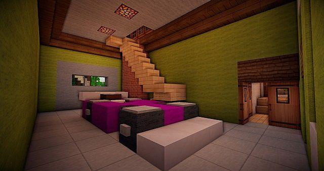 Queen Anne Mansion Minecraft Project