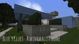 Blue's Clues- A minimalist Home Minecraft Map & Project