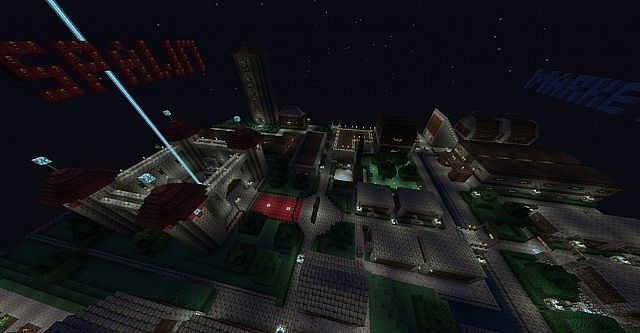 Night time at spawn