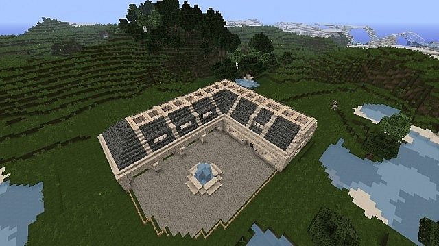Modern Horse Stables House Minecraft Project