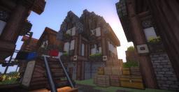 Medieval Town :) Minecraft