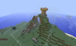 Mini-Wars:Hills 4v4 PVP Map Minecraft
