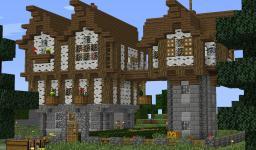 Birch Estate House [Survival] Minecraft