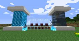 blue sun resouce pack Minecraft