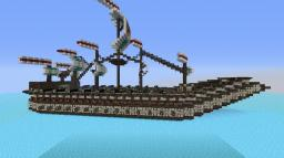 The Rivanian - Colonial Ship Minecraft Map & Project