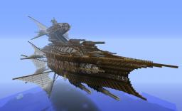 Large Airship For Battle Minecraft Map & Project