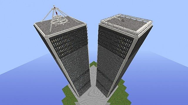 Downloadable World Trade Center Minecraft Project