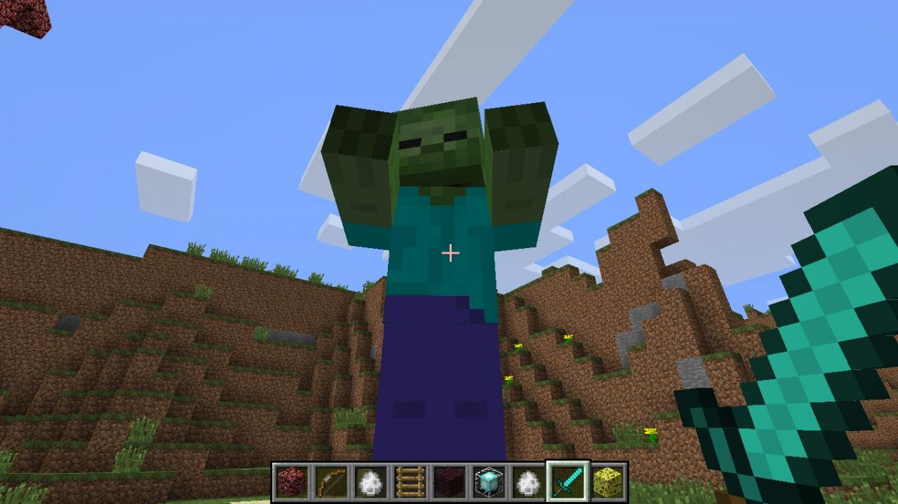 Giant in Minecraft! Minecraft Project