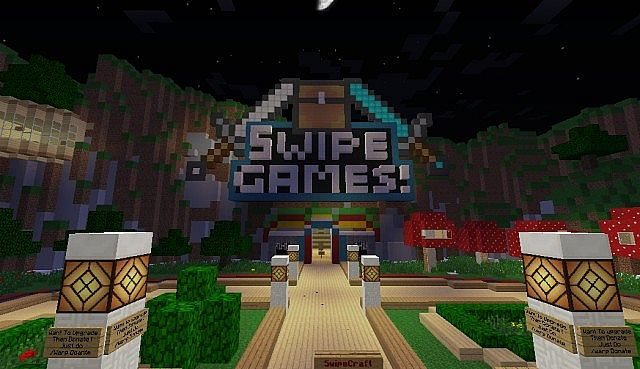 SwipeCraft MiniGame Madness Minecraft Server - Minecraft spiele server