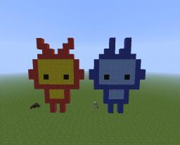 Two Cute Robots Minecraft Map & Project