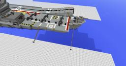 hms illustrious R-06 Minecraft Map & Project