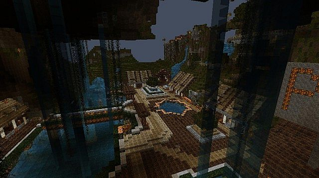 how to build a nice spawn in minecraft