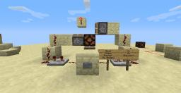 Redstone Basics and Creations! Minecraft Map & Project