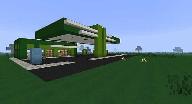 gas station minecraft project