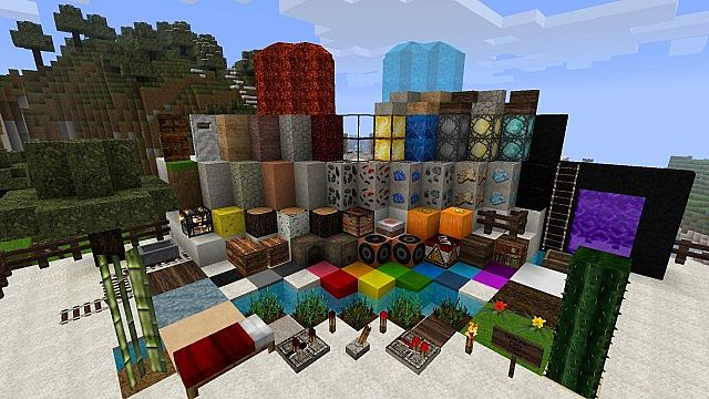 1.8.1 Hyperion HD TexturePack Minecraft Texture Pack