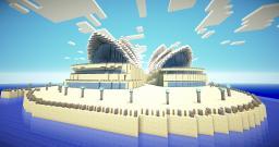 Sydney Opera House Minecraft