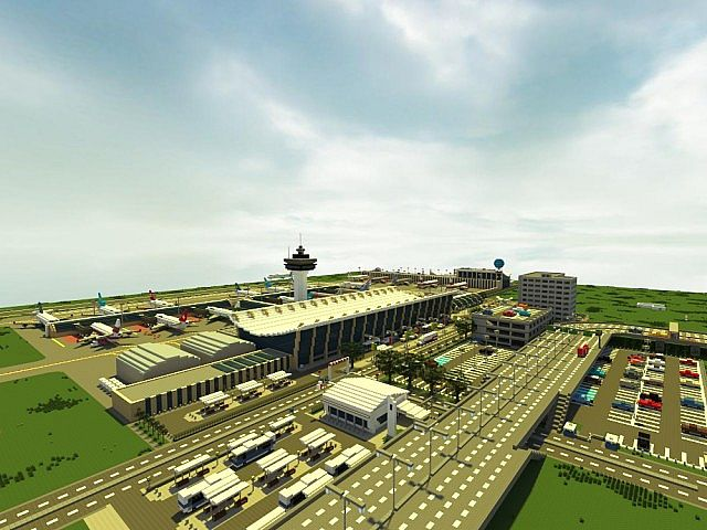 Lapiz Points International Airport ECS Minecraft Project