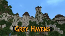 Grey Havens from Lord of the Rings Minecraft Map & Project