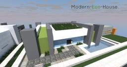 Modern-eco-house by frostsonic_g Minecraft Map & Project