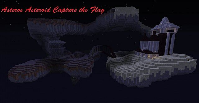 Asteros Asteroid PvP (CTF) Minecraft Project