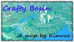 Crafty Basin Battleground Minecraft Map & Project