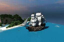 Céolsige - A Medieval Ship Minecraft Map & Project