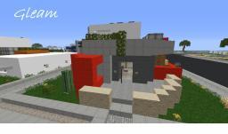 |Gleam| - A Modern/Minimalistic Build Minecraft Map & Project
